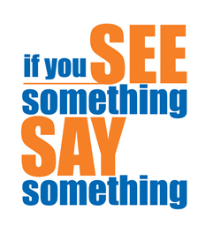 Image result for see something say something