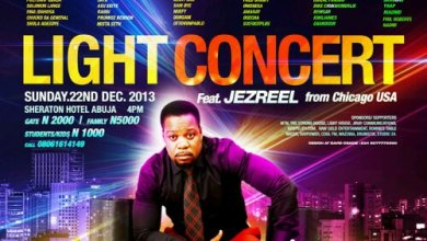 "Photo of Event : MADMO Concepts presents ""LIGHT CONCERT"" in Abuja, 22.12.13"