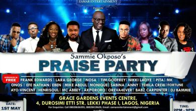 Photo of Event :: Sammie Okposo's Praise Party To Hold May 1st