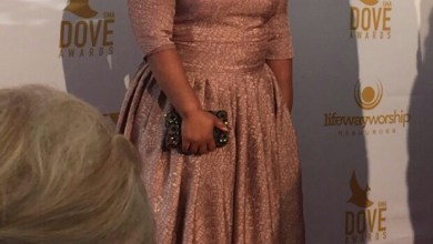 Photo of #GMPFashionTrends :: Tasha Cobbs' Lovely Outfit To Dove Awards [PHOTo]