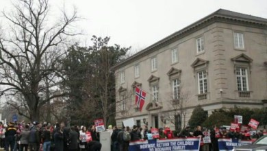 Photo of Thousands Protest Norwegian Embassies for Return of 5 Christian Children Seized by CPS