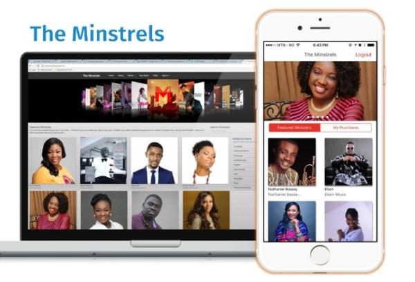 Minstrel app view