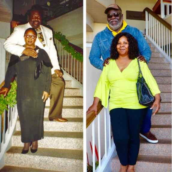 Td Jakes Daughters Wedding.Bishop T D Jakes Shares Major Throwback Pic With Wife
