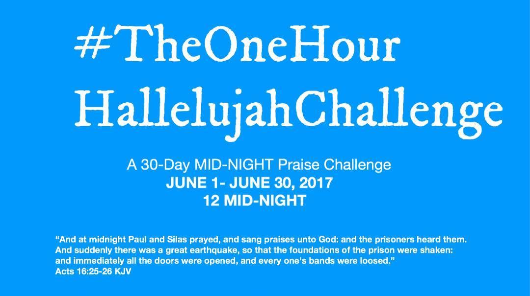 #TheOneHourHallelujahChallenge