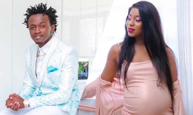 Bahati and Wife