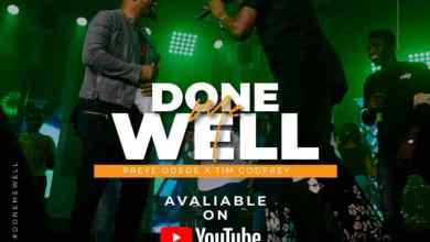 "Photo of Preye Odede and Tim Godfrey Collab for ""Done me Well"" (Live)"