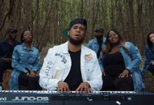 "Photo of Anthony Brown & group therAPy ""Worship in the Woods"""