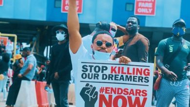 Photo of #EndSARS: Sammie Okposo, Onos, Tim Godfrey Join Protest