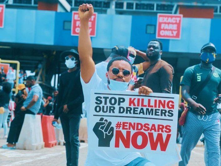 Tim Godfrey_EndSars_Protest_Ground