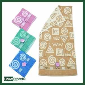 W386 Handuk Mandi Dewasa Ukuran Sedang Tipe H01 - Towel Tebal Motif