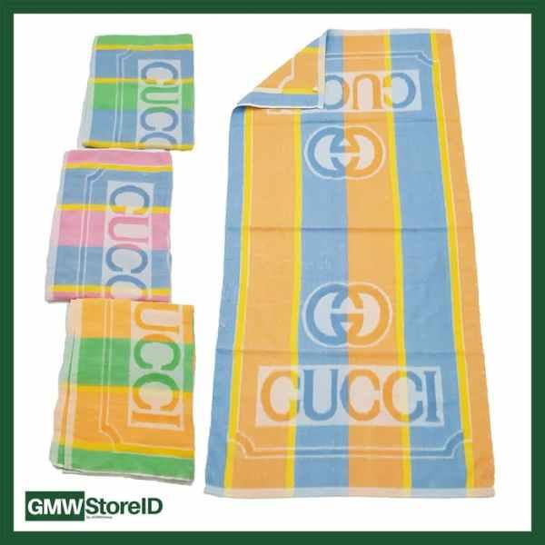 W393 Handuk Mandi Dewasa Ukuran Besar Tipe H08 - Towel Murah Motif
