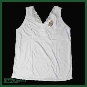 Singlet Kaos Dalam Wanita Leher V Adiler Renda All Size 054 W193