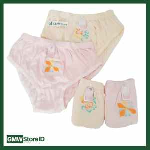 Underwear Perempuan Size M Celana Dalam CD Wanita Yurra Bordil W213