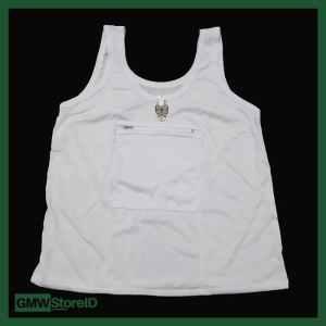 Singlet Kaos Dalam Wanita ada Risleting untuk Umroh XL Adiler 001 W324