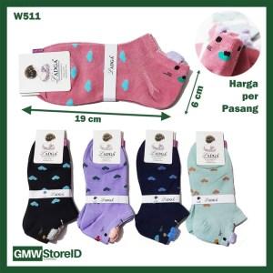 W511 Kaos Kaki Wanita Women Socks Modern Ladies Murah Keren Tipe A13