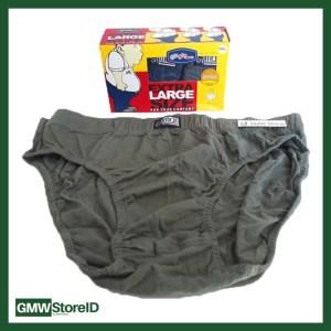 Celana Dalam Pria CD Jumbo Sempak GT Man Laki Size XXXXL 5L W235