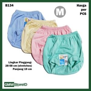 B134 Celana Dalam Bayi Pop Size M Warna Polos CD Baby Pants Halus SNI