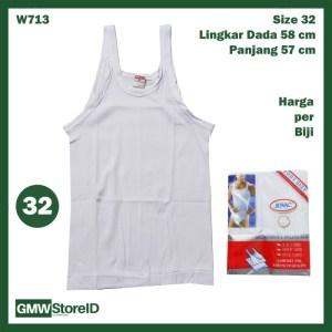 Singlet Kaos Dalam JOVAC Pria Baju Dalaman Fashion Kecil-Besar P01