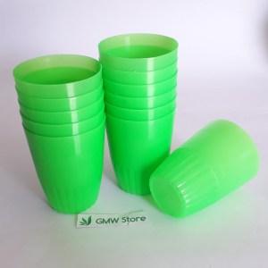 Gelas Plastik Kecil Winka Star Penyimpanan Simpel dan Ringan W269