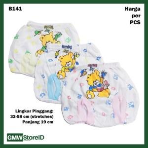 B141 Celana Dalam Bayi CD Pop Gambar Lucu Warna Baby Pants Unisex SNI