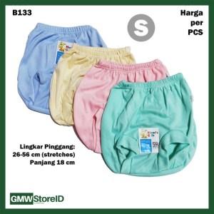 B133 Celana Dalam Bayi Pop Size S Warna Polos CD Baby Pants Halus SNI