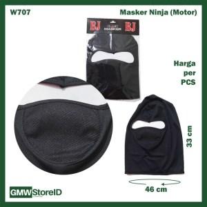 Masker Ninja Pelindung Matahari Anti Debu Full Head Mask Kepala W707