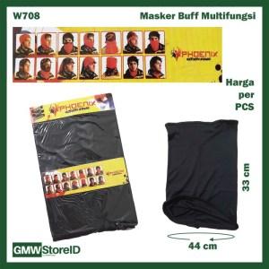 Masker Pelindung Leher Motor Mask Anti Debu Asap Matahari Buff W708