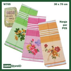 Handuk Wajah Kecil Warna Face Towel Motif Lukisan Indah 30x70 cm W705