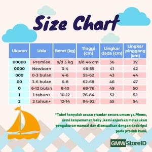 B104 Baju Bayi Lengan Panjang Kancing Katun Warna Baby Clothes SNI