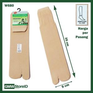 W680 Kaos Kaki Wanita Women Socks Semata Kaki Model Jempol Murah E33
