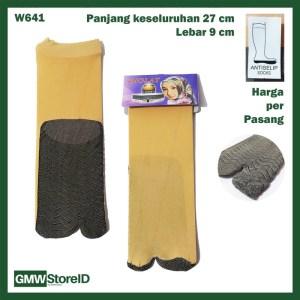 W641 Kaos Kaki Wanita Women Socks Pendek Perempuan Antislip E29