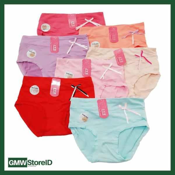 W603 CD Wanita Celana Dalam Perempuan Warna Cerah Bagus Elegan J20