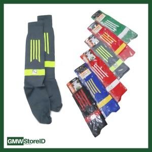 W561 Kaos Kaki Pria Men Socks Olahraga Sport Sock Motif Warna Tipe A15