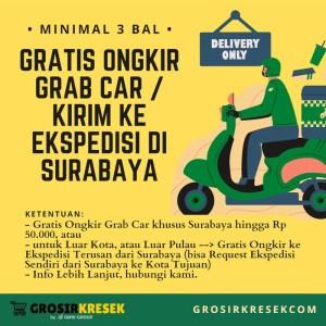 GK90 Grosir Kantong Kresek TENIS MEJA HD Tebal Natural 15x34x03 132lbr