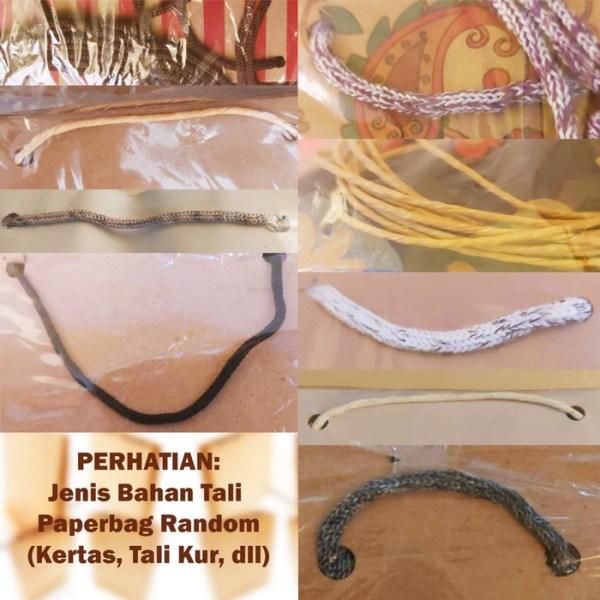 W487 Paper Bag Goodie Bag Halus Tas Souvenir Kecil Paperbag Batik