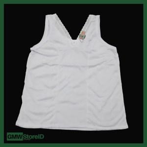 Singlet Atasan Wanita Leher V Kaos Dalam Renda Kecil Adiler 053 W321