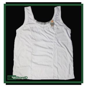 Singlet Kaos Dalam Renda Putih Wanita Adiler Daleman Cewek 049 W191