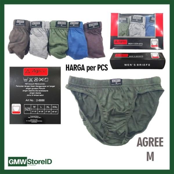 Celana Dalam Laki-Laki Dewasa CD Pria Agree - W518 W519 W520 W521
