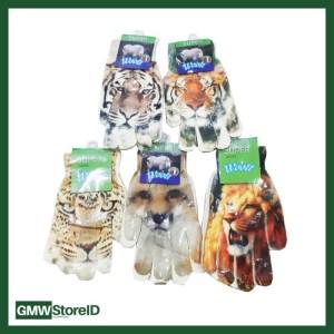 Kaos Tangan Dewasa Motif Hewan Animal Print Wooll Gloves FG805-43 W347