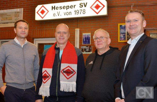 Dirk Scheffczyk wird im Sommer Trainer beim Heseper SV