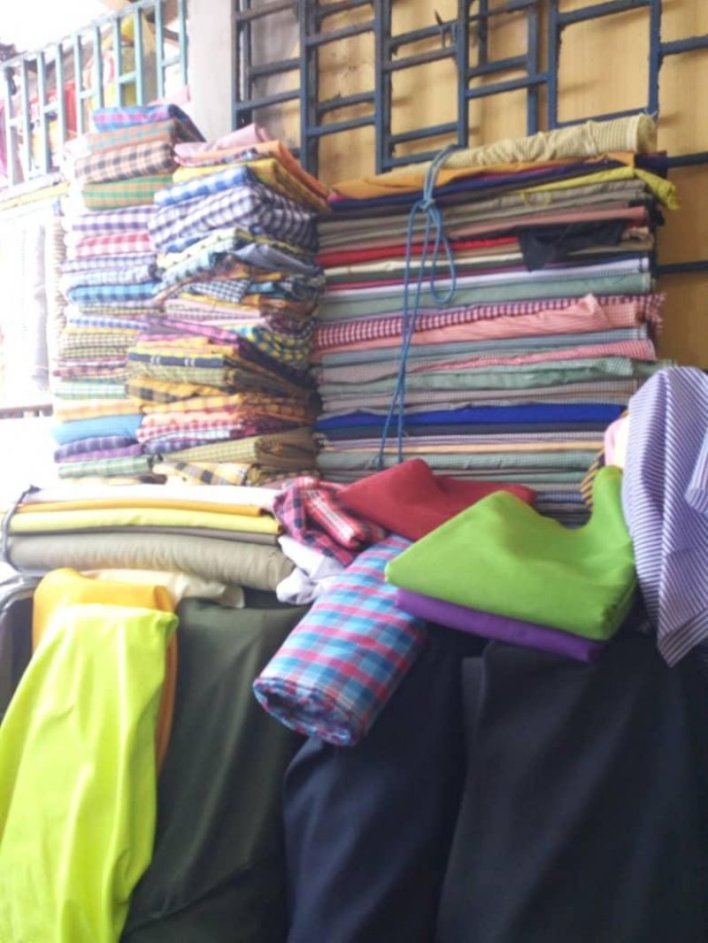 Fabric dealers cashing in on reopening of schools 1