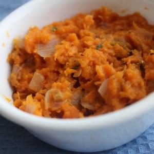 Sweet Potato Thai Mash