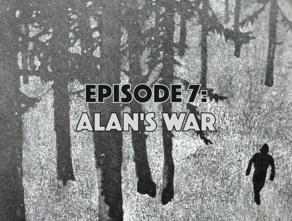 Alan's War, comic book podcast