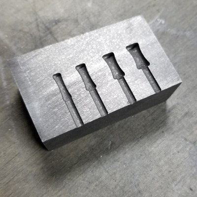 Our Small Gauge Mold.