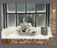 So wunderschön ist der Winter auf dem Gnitz / Usedom. Gnitzer Seelchen