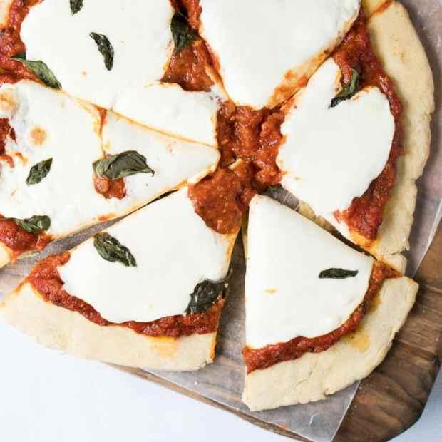 Gluten Free Pita Bread Pizza