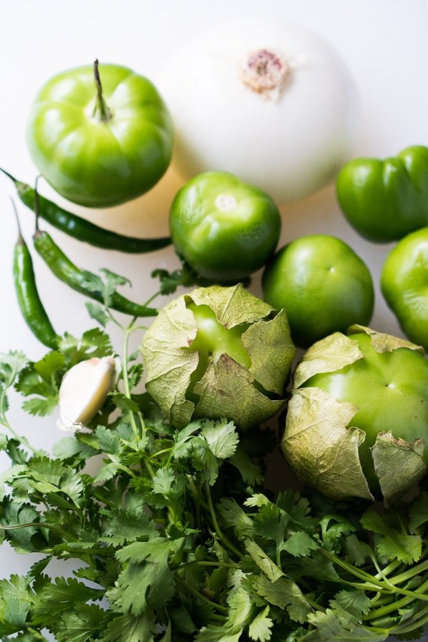 A Truly Mexican Salsa Verde