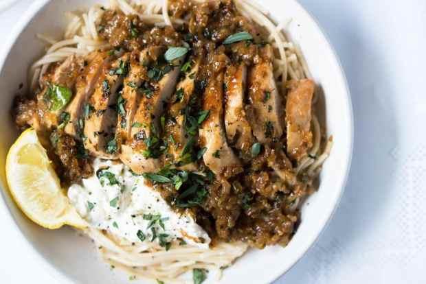 30-Minute Tarragon Chicken Pasta ? Gluten Free