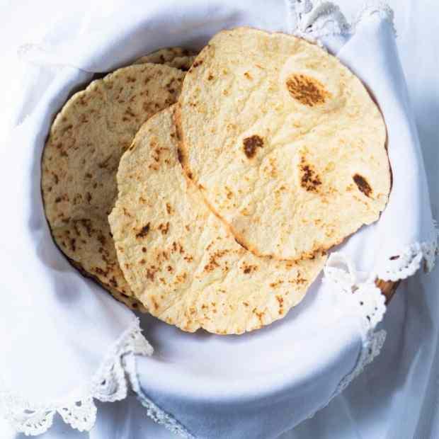 15-Minute Gluten Free & Keto Tortillas ? Suuuper pliable, just 1 egg, & 2g net carbs!