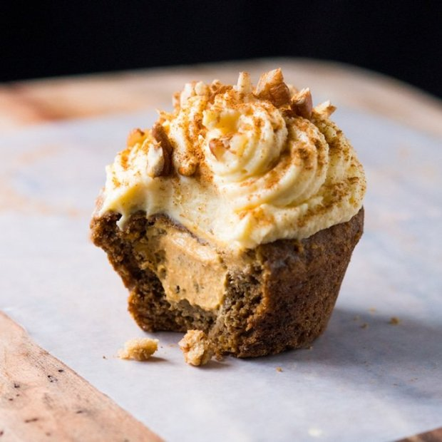 Gluten Free & Keto Pumpkin Spice Latte Muffins 🎃🍂☕